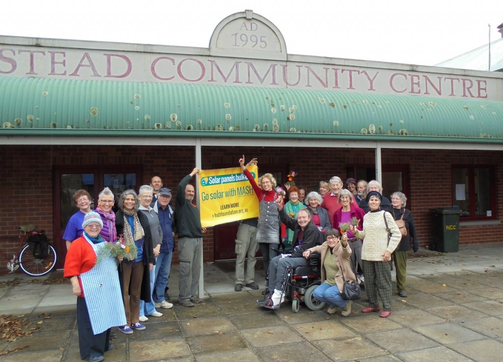 Newstead Community Centre gets free MASH solar system